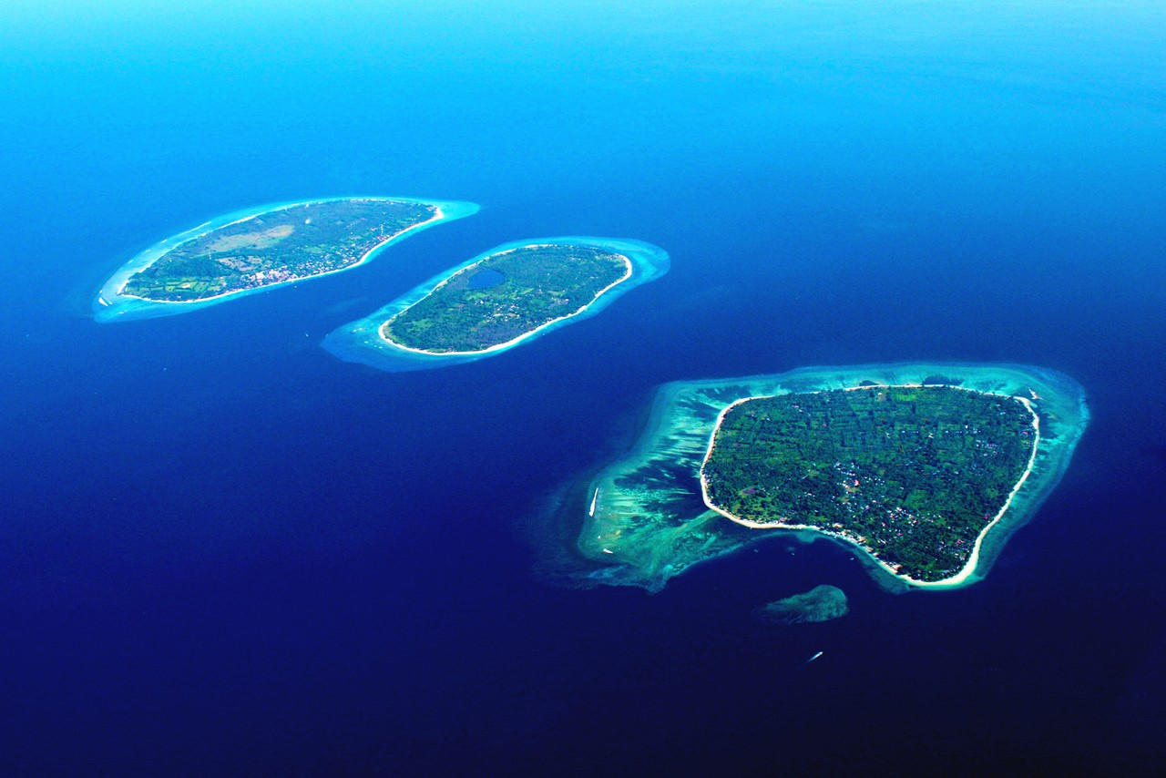 The three Gili Islands