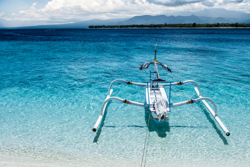 Travel from Bali to gili Meno