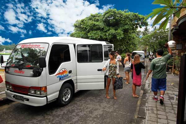 Hotel pick up travel Serangan to the Gilis